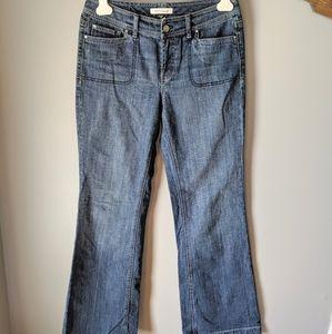 WHBM wide leg jeans